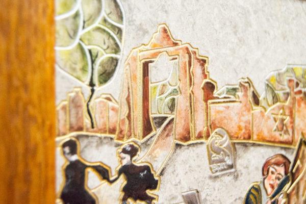 Каменная Картина Поминовение № 02 (Сутин), изображение, фото 19