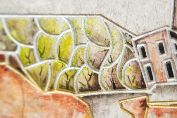 Каменная Картина Поминовение № 02 (Сутин), изображение, фото 21