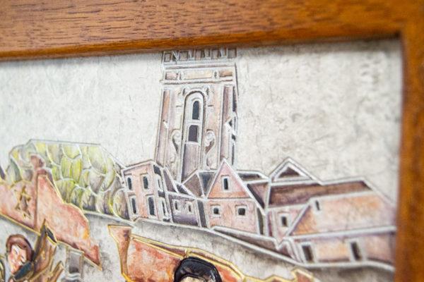 Каменная Картина Поминовение № 02 (Сутин), изображение, фото 22
