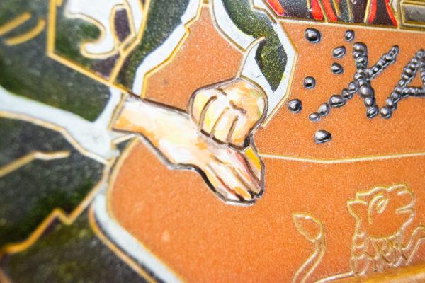 Каменная Картина Поминовение № 02 (Сутин), изображение, фото 23