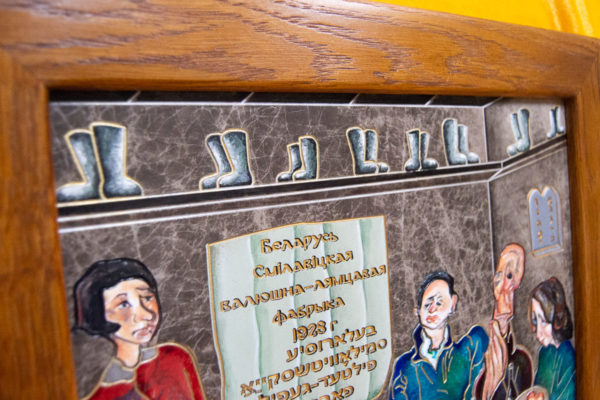 Каменная Картина Парижане в торговой лавке № 02 (Сутин), изображение, фото 13