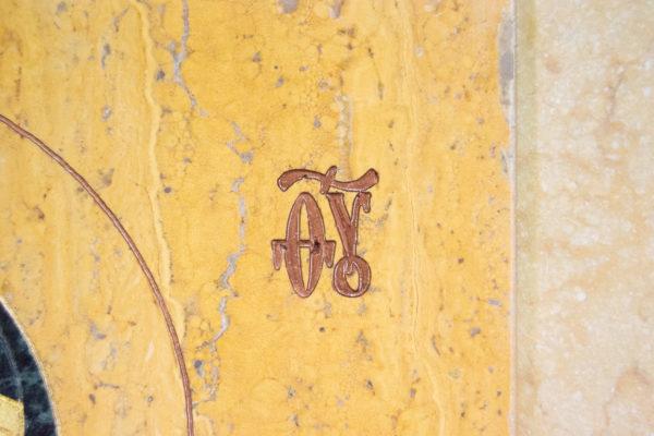 Икона Тихвинской Божией Матери № 1-12,8 из мрамора, камня, изображение, фото 15