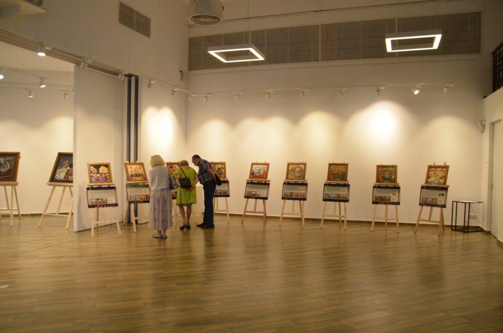 Открытие выставки картин из камня Хаим Сутин, фото 12