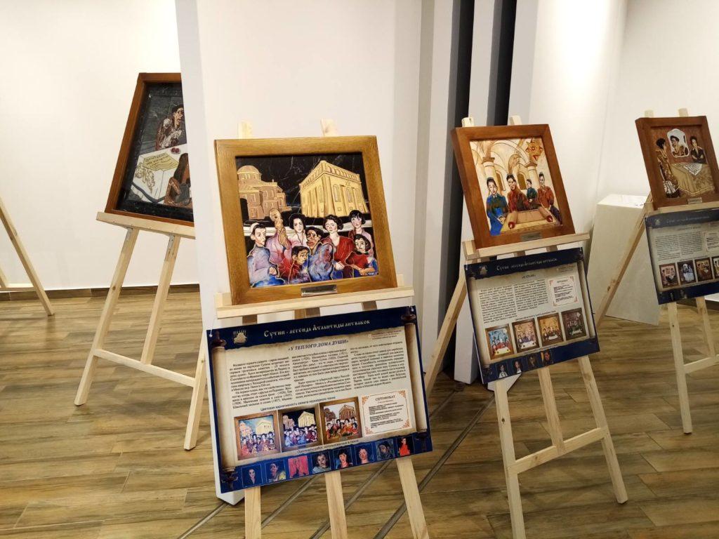 Открытие выставки картин из камня Хаим Сутин, фото 3