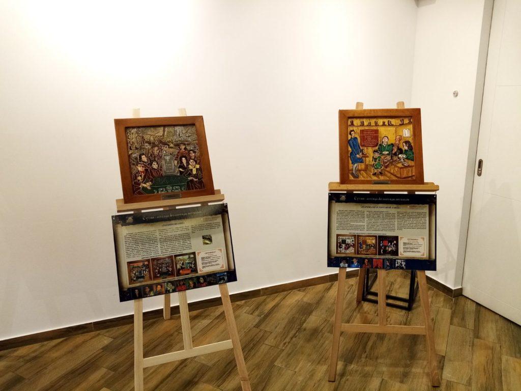 Открытие выставки картин из камня Хаим Сутин, фото 2