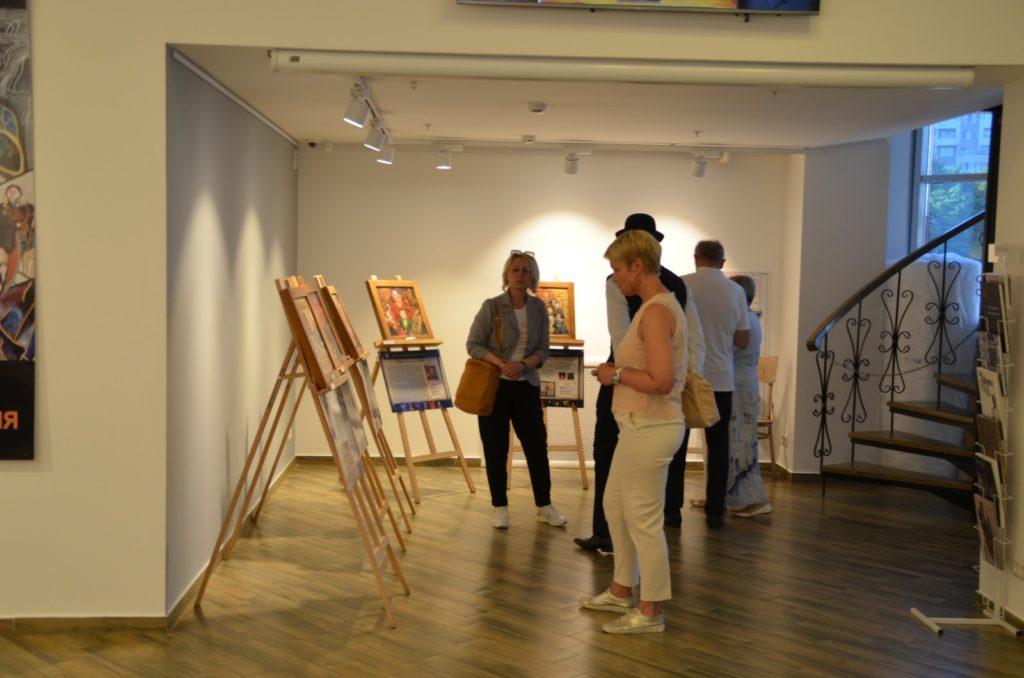 Открытие выставки картин из камня Хаим Сутин, фото 10