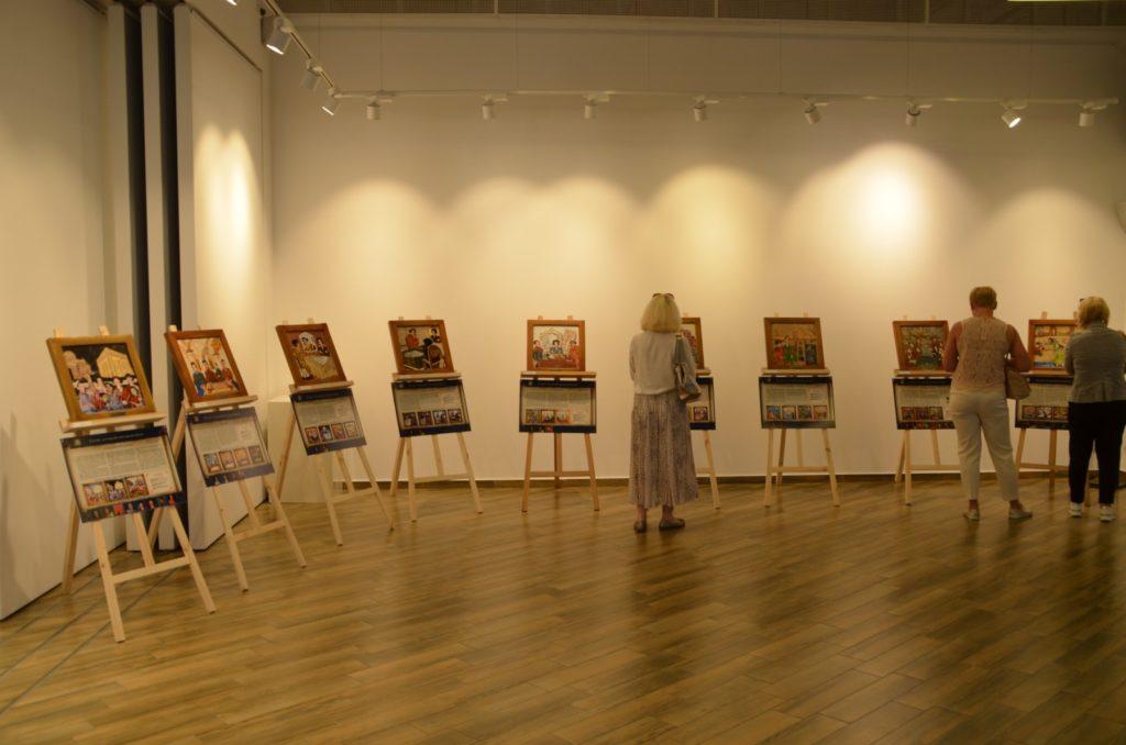 Открытие выставки картин из камня Хаим Сутин, фото 11