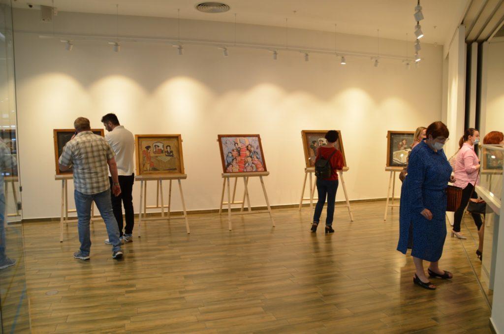 Открытие выставки картин из камня Хаим Сутин, фото 8