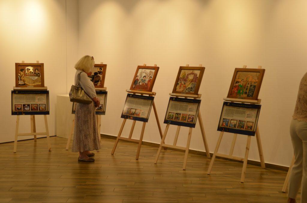 Открытие выставки картин из камня Хаим Сутин, фото 6