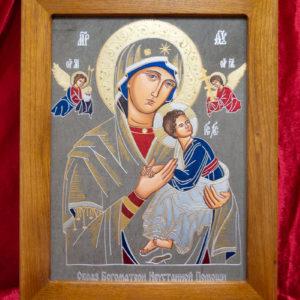 Икона Богоматерь Неустанной Помощи (Страстная икона Божией Матери) № 3-3, изображение, фото 14
